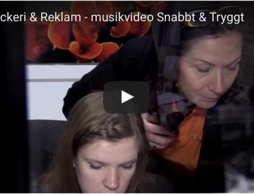 ST Tryckeri & Reklams nya musikvideo